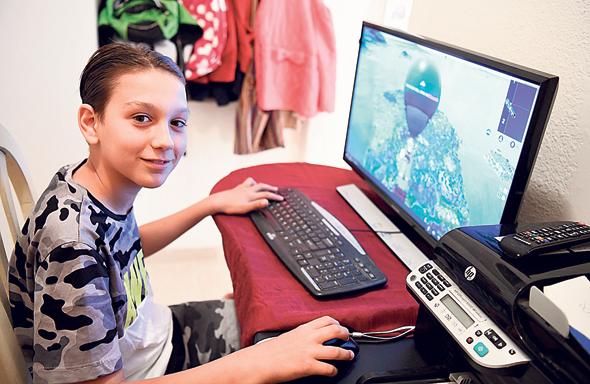 גיא גולדנברג (12), רעננה, צילום: יאיר שגיא