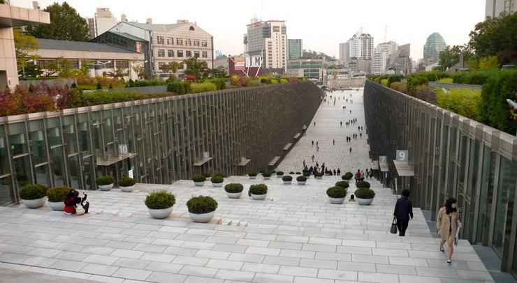 אוניברסיטת Ewha בסיאול, דרום קוריאה