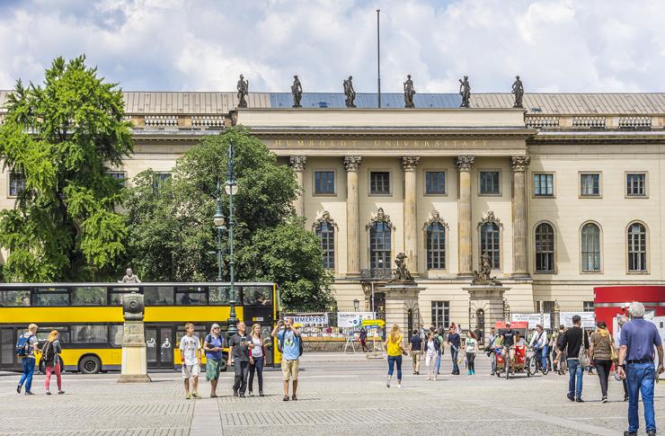 אוניברסיטת המבולד, ברלין