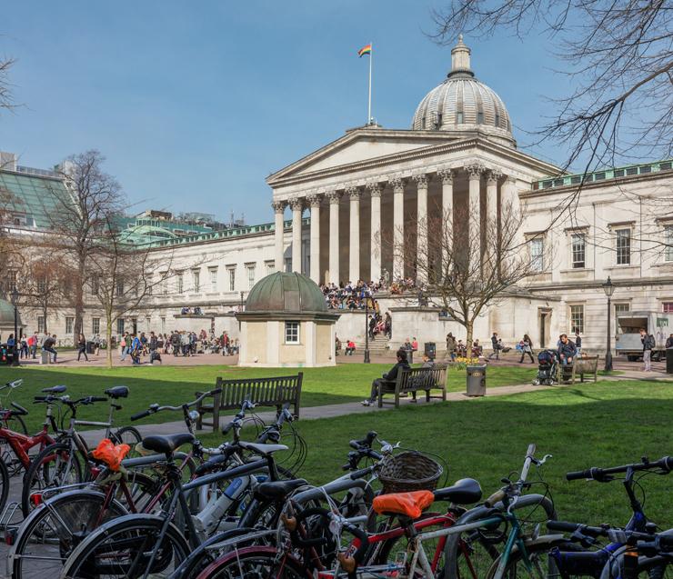 יוניברסיטי קולג' בלונדון. לראשונה בצמרת