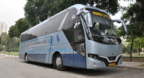 """אוטובוס של חברת מסיעי שאשא, צילום: יח""""צ"""