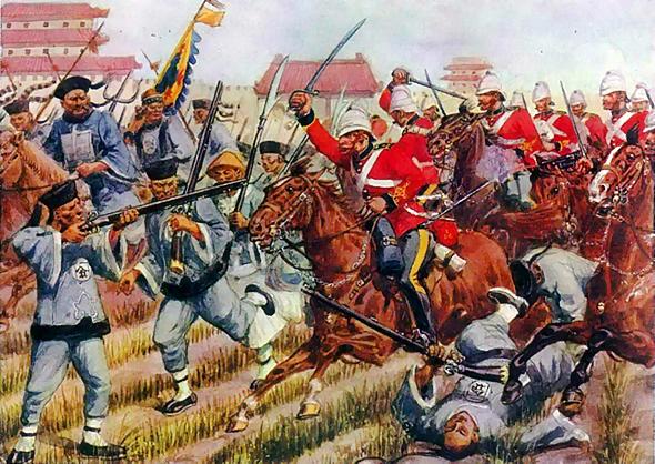 מלחמת האופיום, סין בריטניה, 1860, צילום: ויקיפדיה