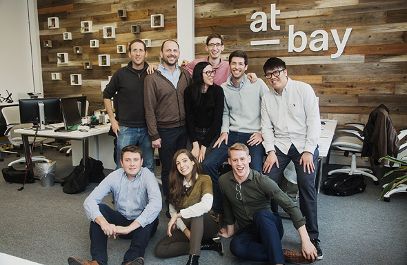 At-Bay's team. Photo: Businesswire