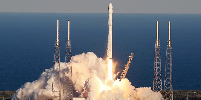 שנתיים אחרי פיצוץ עמוס 6: שיגור מוצלח לפלקון 9 של מאסק