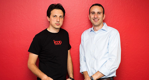 Left to right: Loop Commerce founders Alex Sirota and Roy Erez. Photo: PR