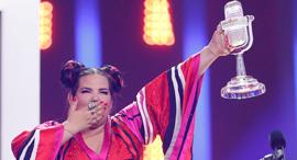 נטע ברזילי בביצוע הגמר של אירוויזיון 2018 3, צילום: רויטרס