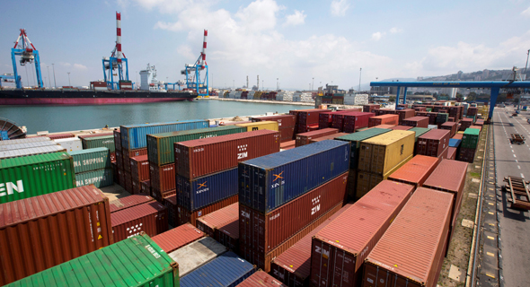 נמל חיפה עיצומים שביתה, צילום: רויטרס