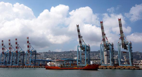 נמל חיפה עיצומים שביתה 2, צילום: רויטרס