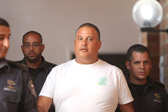 """אלון חסן יו""""ר ועד עובדי נמל אשדוד, צילום: עמית שעל"""