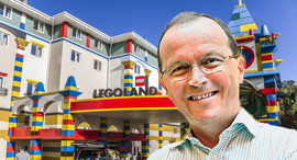 תומאס כריסטיאנסן לגולנד לגו, צילום: אתר חברת lego, שאטרסטוק