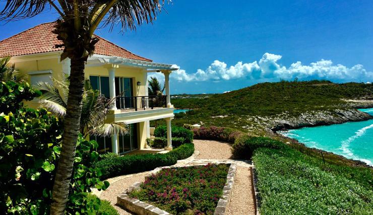 זווית נוספת מהאחוזה לנוף הפתוח של האוקיינוס האטלנטי, צילום: Premiere Estates