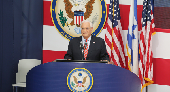 U.S. Ambassador to Israel David Friedman. Photo: Amit Shabi