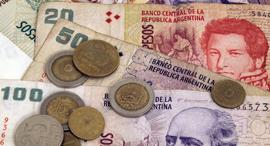כסף מטבע פזו ארגנטינה, צילום: שאטרסטוק