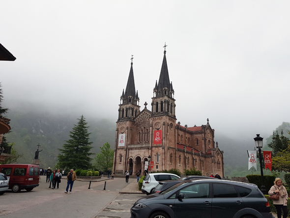 קתדרלה  Covadonga  שמורת טבע צפון ספרד פיקוס דה אירופה, צילום: דוד הכהן