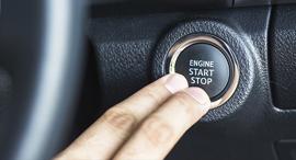התנעה ללא מפתח סטארטר מכונית, צילום: שאטרסטוק