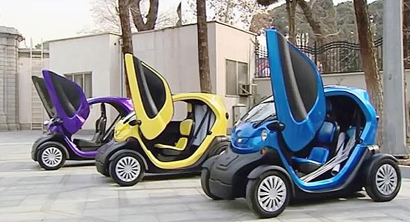 כלי הרכב החשמליים החדשים של איראן