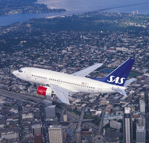 חברת תעופה סאס סקנדינביה איירליינס סיסטם , צילום: SAS