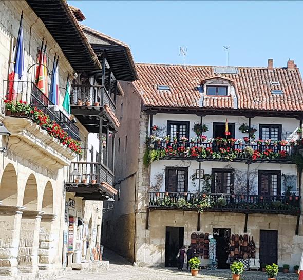 העיירה Santillana del mar