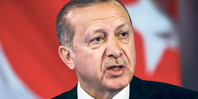 נשיא טורקיה רג'פ טאיפ ארדואן, צילום: בלומברג