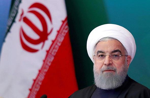 נשיא איראן חסאן רוחאני