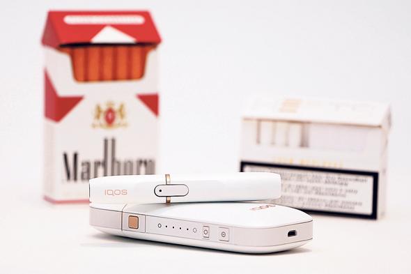ה-iQOS, מכשיר אידוי טבק של פיליפ מוריס