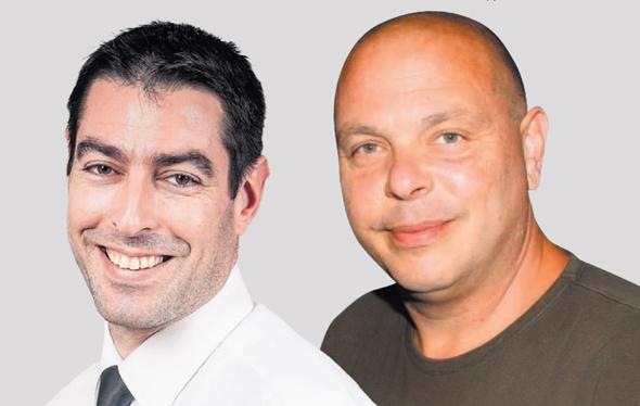 """מימין: איש העסקים קובי טריביטש והמנהל המיוחד לנכסיו עו""""ד אופיר פדר"""