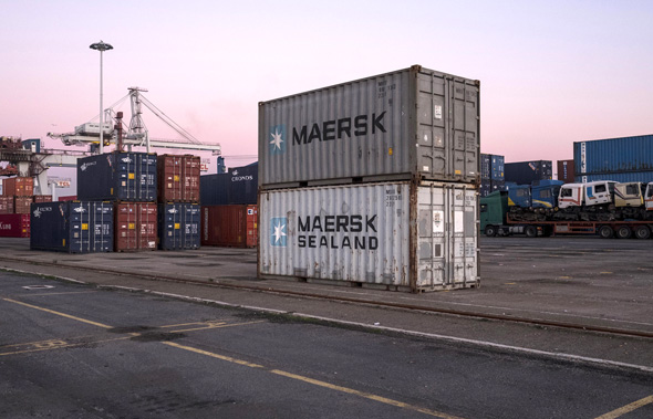Maersk shipping. Photo: Bloomberg