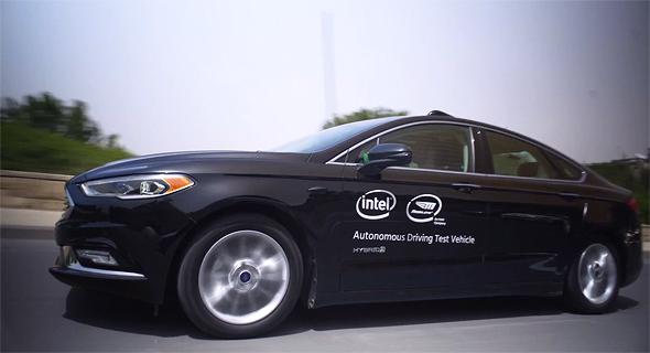 Mobileye self-driving car. Photo: Mobileye