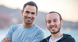 Spot.io co-founders Amiram Shachar and Eliran Pollack. Photo: Courtesy