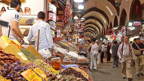 שוק באיסטנבול, טורקיה