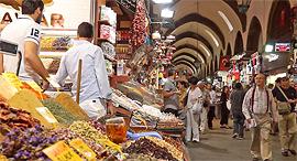 שוק איסטנבול טורקיה, צילום מסך: Youtube