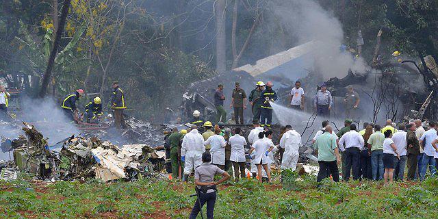 קובה: נפגעים רבים בהתרסקות מטוס נוסעים זמן קצר אחרי ההמראה