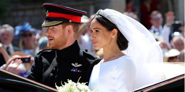 """סיבוב על החתונה המלכותית: המזכרות שחולקו לאורחים נמכרות באלפי ליש""""ט באיביי"""