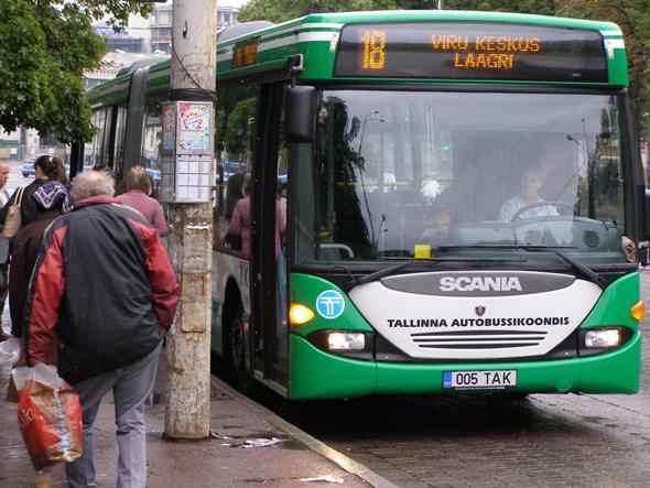 תחבורה ציבורית באסטוניה
