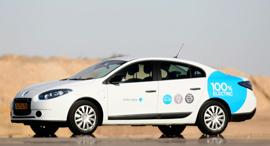 רנו פלואנס רכב חשמלי בטר פלייס, צילום: תומריקו