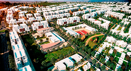 הדמיה של טנטור עיר ערבית חדשה , הדמיה: קולקר אפשטיין אדריכלים