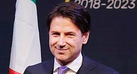 ראש ממשלת איטליה ג'וזפה קונטה, צילום: איי פי