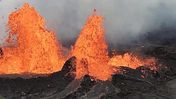 התפרצות הר הגעש קילוואה בהוואי