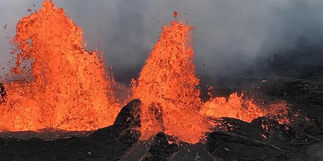הלבה בהוואי הגיעה לתחנת הכוח של אורמת