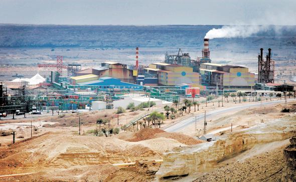 מפעלי ים המלח של כיל. רבעון מוצלח, גם לבעלת השליטה