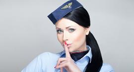 הקברניט דיילת דיילות תעופה, צילום: שאטרסטוק