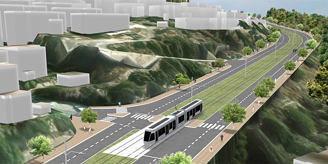 אינקו הספרדית וינון הישראלית זכו במכרז התכנון לקו הרכבת הקלה חיפה נצרת