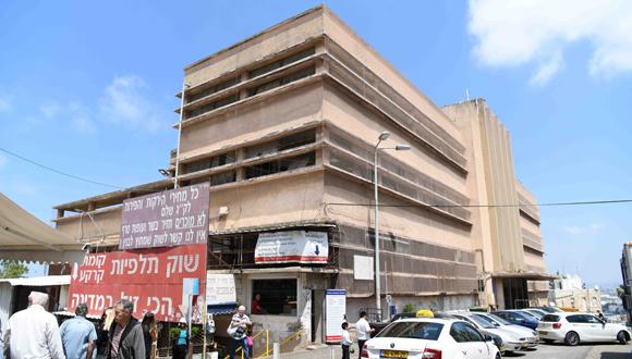 בניין שוק תלפיות, צילום: ראובן כהן-דוברות עיריית חיפה