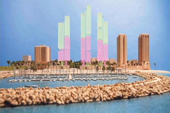 התוכנית המקורית של 3 מגדלים, ההדדממייה: פוסטר ושות