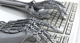 """בינה מלאכותית כותבת דו""""ח רבעון, צילום: שאטרסטוק"""