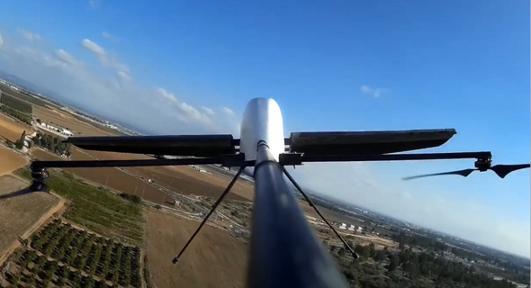 Culogo's drone in action. Photo: Colugo Systems Ltd.
