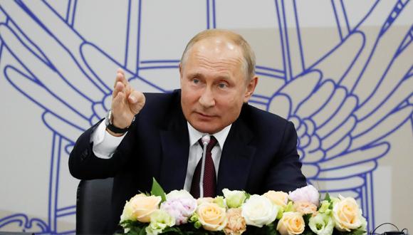 ולדימיר פוטין , צילום: רויטרס