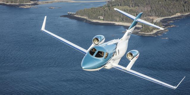 הונדה מציגה את מטוס המנהלים החדש HondaJet Elite