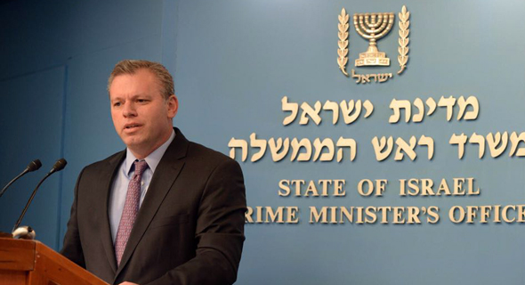 Eli Groner in his role as director-general of the Prime Minister