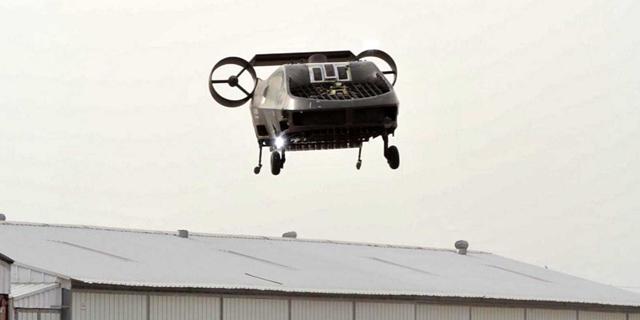 צפו: אמבולנס מעופף רובוטי ישראלי מדגים חילוץ פצועים